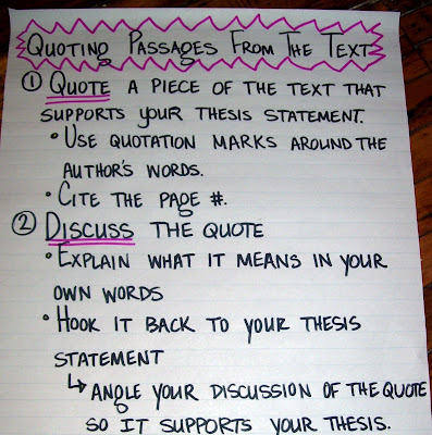 quotes essays rules Using quotations in essays here are a set of rules to clearly distinguish your writing from punctuating long quotes long quotations should be set off as.