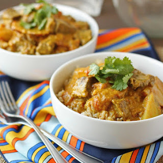 Spicy Beef and Potato Curry