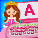 Baby Princess Computer - Phone, Music, Puzzle icon