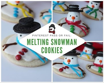 Pinterest Pass Or Fail: Melting Snowman Cookies Recipe