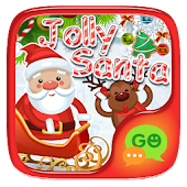FREE-GOSMS JOLLY SANTA STICKER