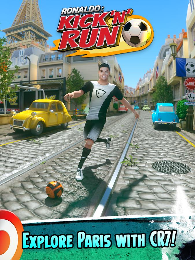 Cristiano Ronaldo: Kick n Run Trucos