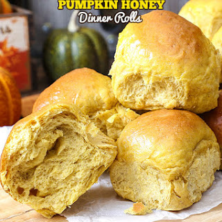 Pumpkin Honey Dinner Rolls