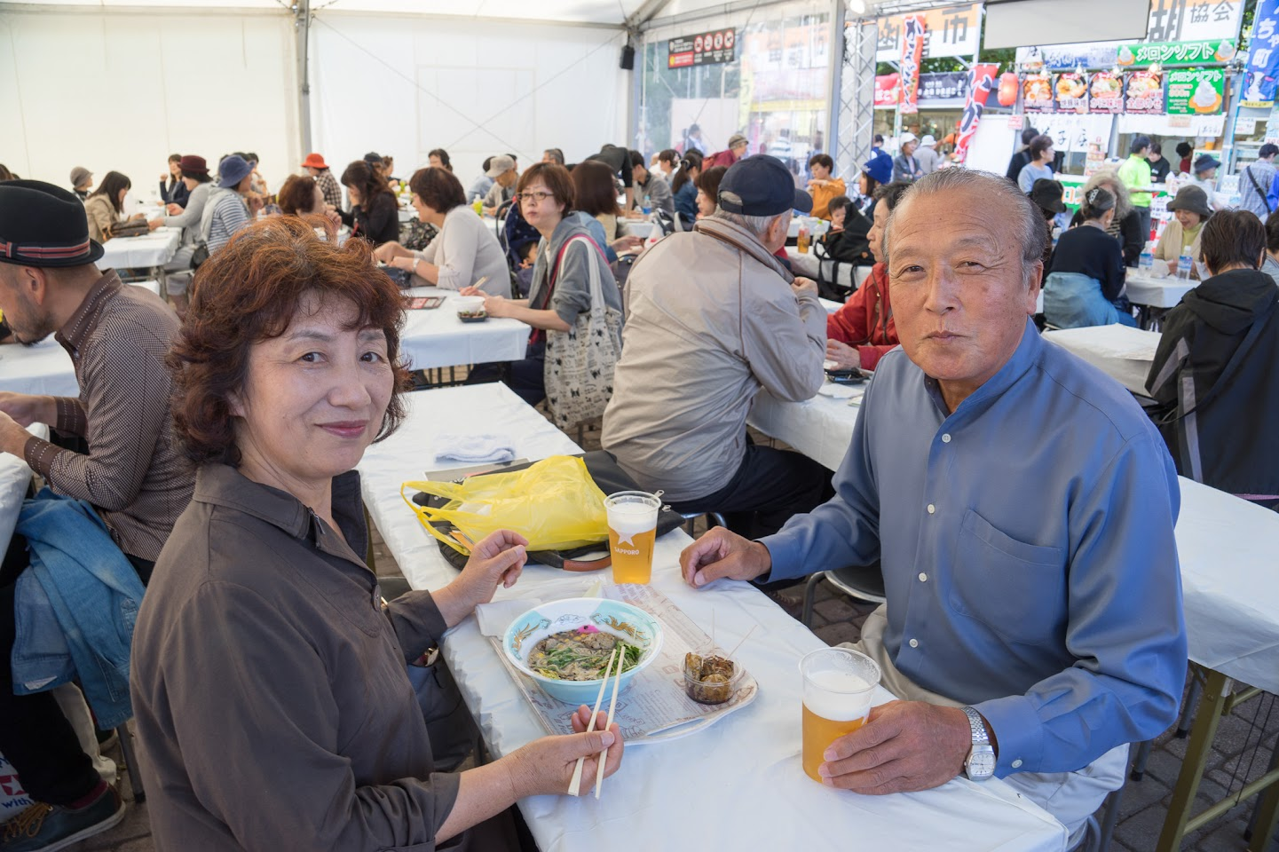 札幌市在住、北竜町ご出身の木戸ご夫妻