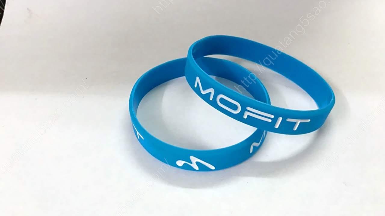 Vòng tay cao su của MOFIT - Thương hiệu máy chạy bộ số 1 Việt Nam