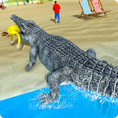 Hungry Crocodile Attack 3D