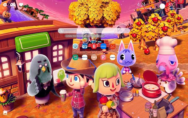 Animal Crossing Wallpaper Hd New Tab Theme