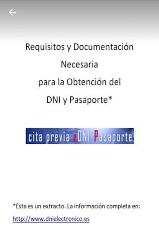 DNI/Pasaporte: Requisitos y Obtenciu00f3n de Cita screenshots 8