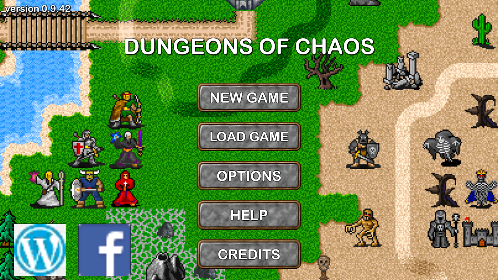 Dungeons of Chaos- screenshot