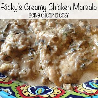Ricky's Creamy Chicken Marsala
