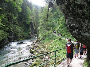 Photo: ..die Breitachklamm..