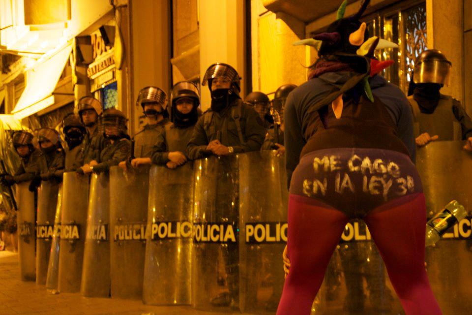 Foto: Rechazo a Reforma Ley 30. Foto: Juanita Boada