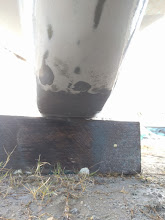 Photo: fairing leading edge of lower keel