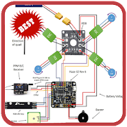 Enjoyable Drone Wiring Diagram 1 0 Latest Apk Download For Android Apkclean Wiring Digital Resources Minagakbiperorg