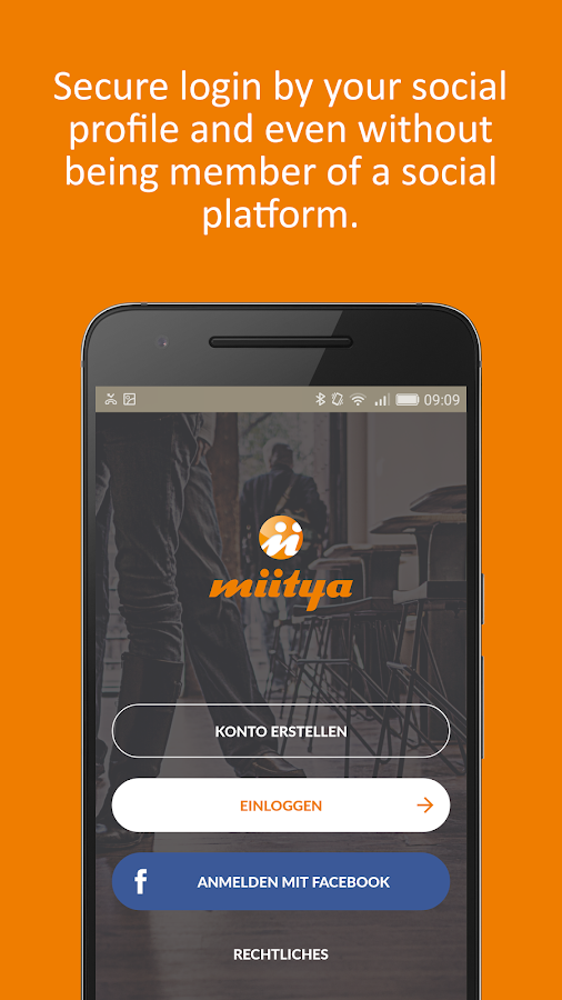 miitya The Instant Meeting App- screenshot