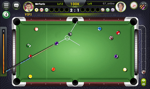 Screenshot for Amazing Pool Billiards 2019 in United States Play Store