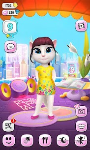 My Talking Angela Mod Apk  4.8.3.841 [Unlimited Money] 6