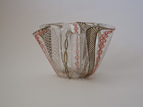 Photo: Zanfirico hankerchief (Fazzoletto) vase.
