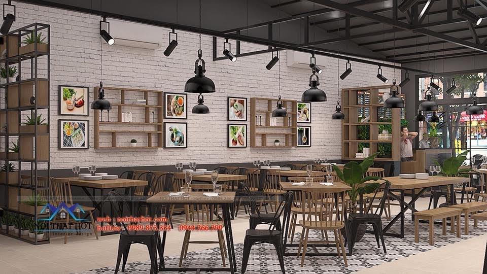 thiết kế nhà hàng bánh tráng 6