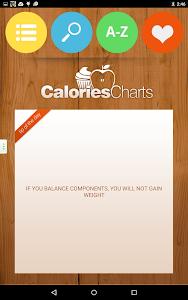 Calorie Chart screenshot 13