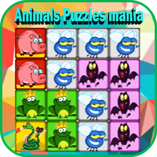 Animals Puzzles- Drag'n'Drop
