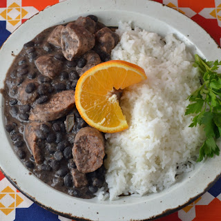 Pork and Black Beans with Rice