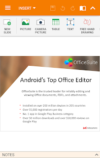 Mobisystems OfficeSuite Pro + PDF- screenshot thumbnail