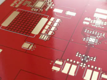 ENIG surface finish through solder mask thickness
