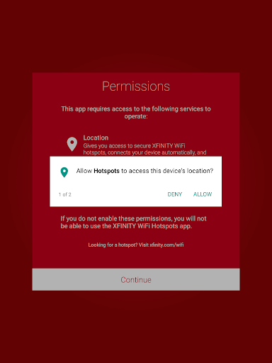 Xfinity WiFi Hotspots 5.6.2 screenshots 15