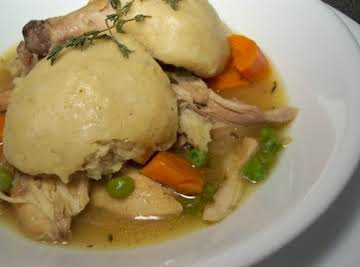 Amazing Crockpot Chicken and Dumplings!