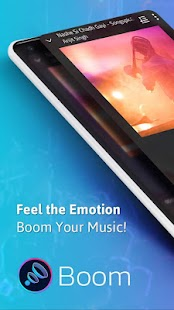 Boom: Music Player with 3D Surround Sound and EQ Capture d'écran