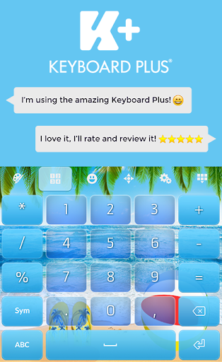 Summer Keyboard Theme