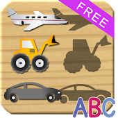 Wheels Puzzles For Kids - ABC