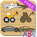 Cars and Vehicles Puzzles for Toddlers icon