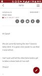 screenshot of Tutanota - Free Secure Email