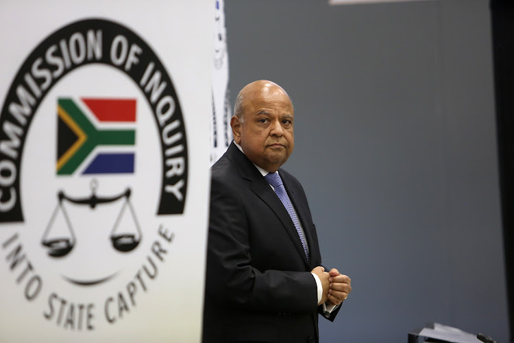 Gordhan began his testimony at the commission of state capture with an admission that the ANC had not been tough enough on its members accused of wrongdoing.