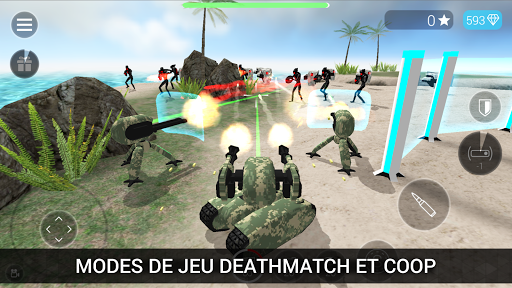 CyberSphere: TPS Online Action-Shooting Game  captures d'écran 2