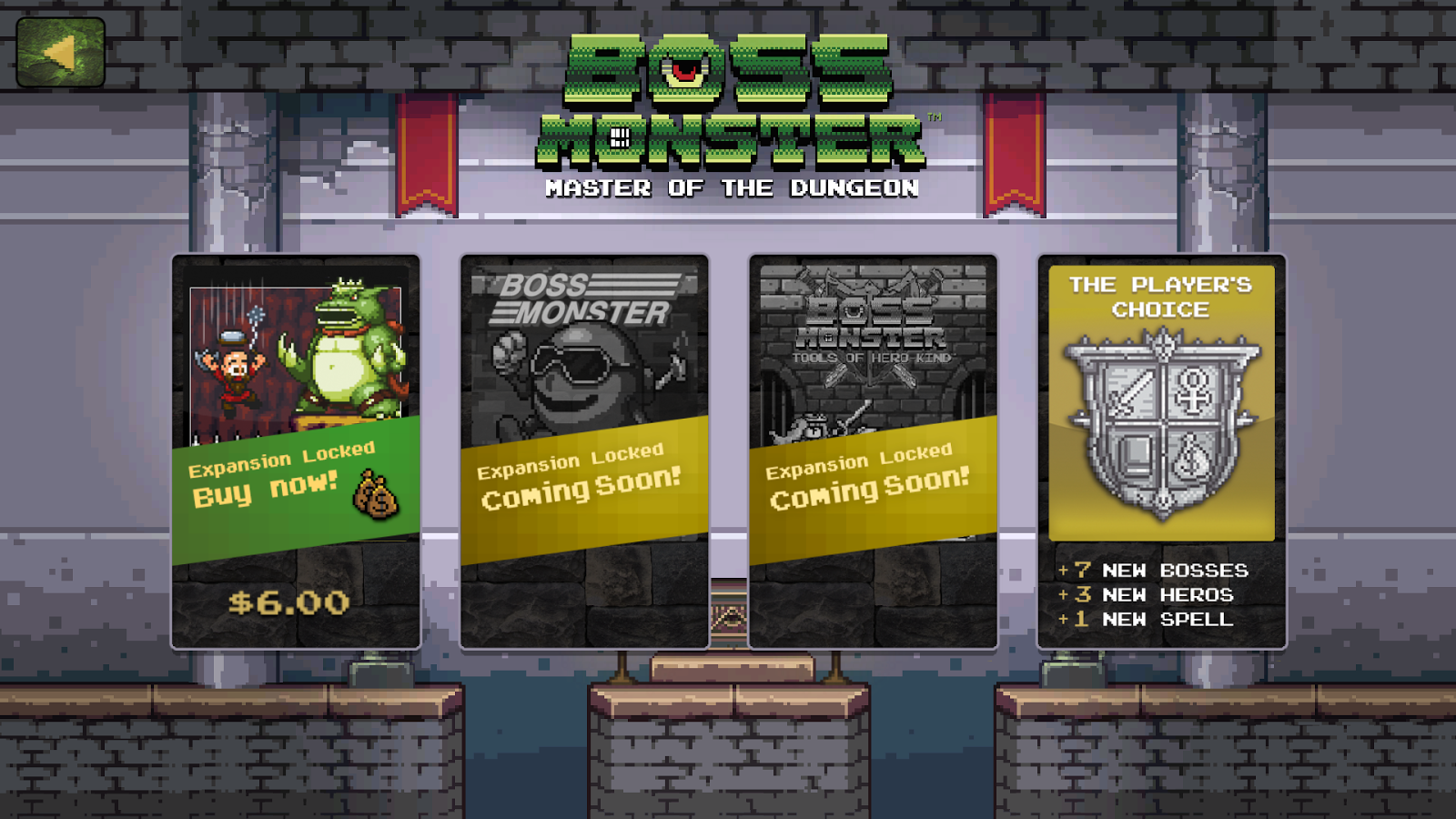 Boss Monster- screenshot