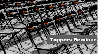 Topper's Seminar - NeoStencil with Top Teachers in India