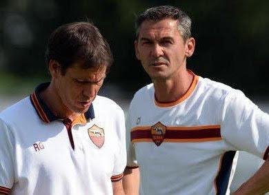Rudi Garcia et Claude Fichaux