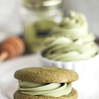 Healthy Matcha Green Tea Sugar Cookies.