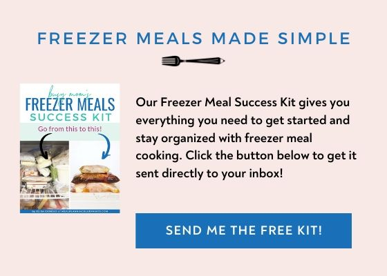 Free Freezer Meal Success Kit