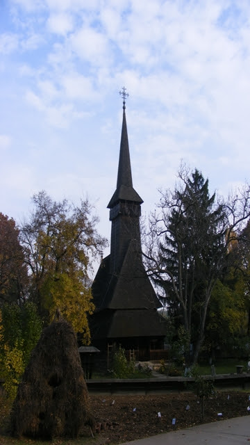 Wooden Church in Bucharest museum