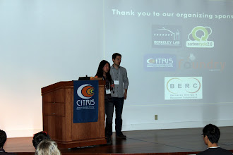 Photo: Jolie Chan and Peter Minor of CITRIS