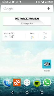 Episode VII - Countdown Widget screenshot