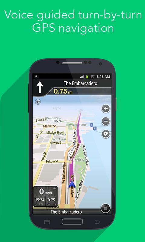 how to create navigation app on android