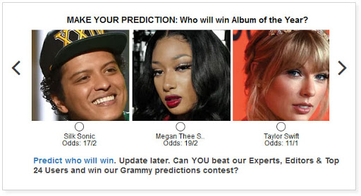3 tips for making Grammy predictions this year include a quirky alphabetical advantage