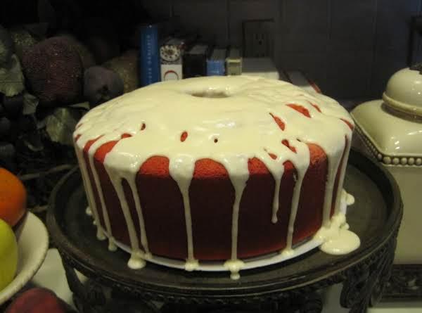 Red Velvet Pound Cake By Rose