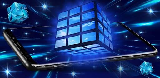 3d Cube Live Wallpaper Hd Background Parallax Indir Pc Windows