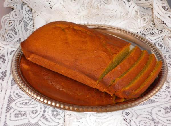 This Is A Wonderful Pumpkin Bread Recipe.